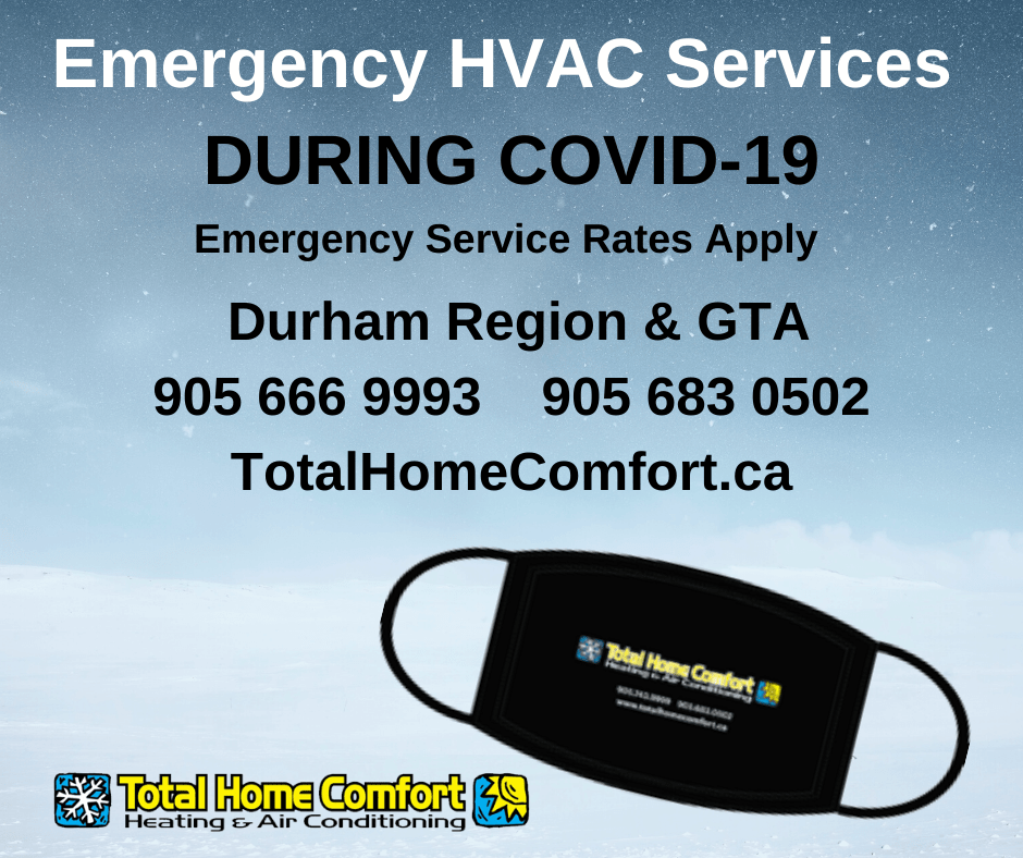Total Home Comfort Heating & Air Conditioning COVID-19 Response
